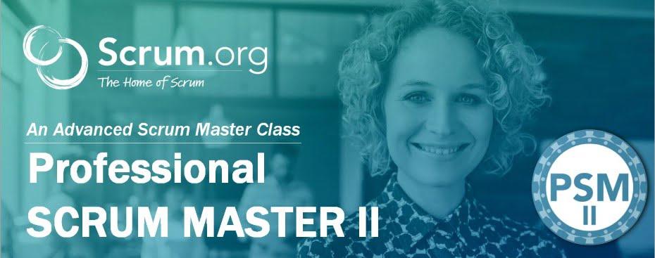 Curso Professional Scrum Master 2 en Barcelona y Madrid