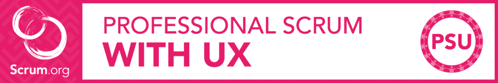 Curso Professional Scrum with UX de Scrum.org