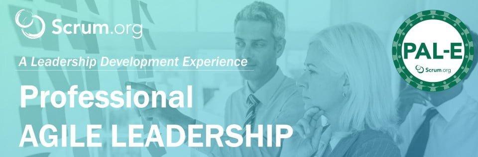 Curso Professional Agile Leadership - Essentials de Scrum.org