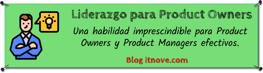Liderazgo para Product Owners