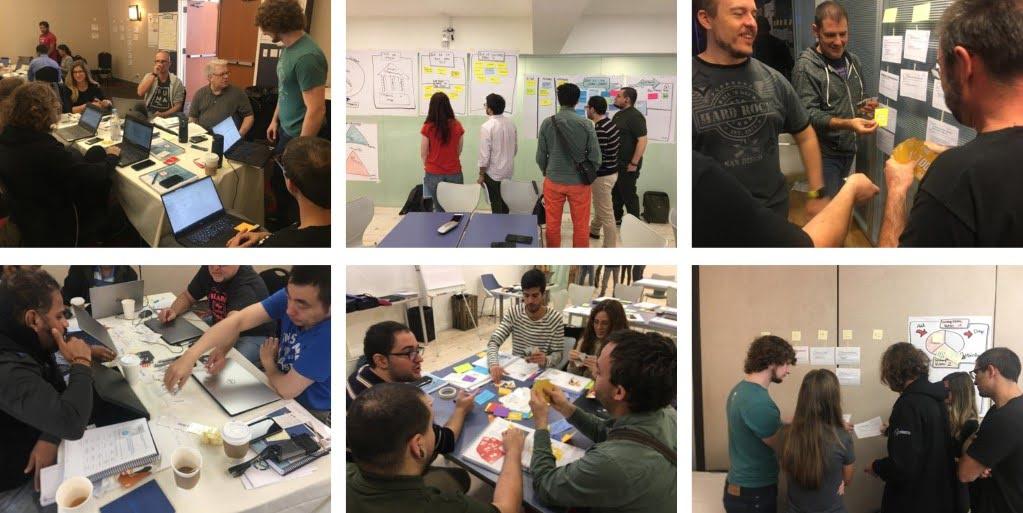 Fotos curso Professional Scrum Developer PSD en España