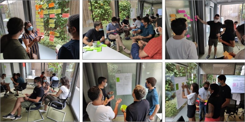 Taller Estructuras Liberadoras para Colaboración de equipos y Product Discovery