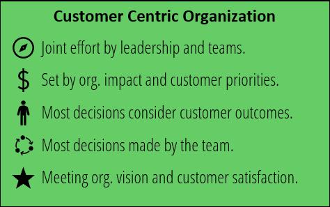 Organizaciones Customer Centric