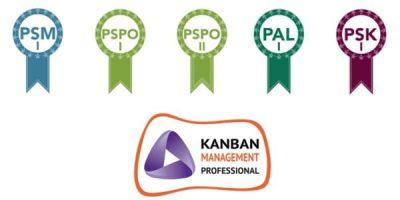 Certificados Scrum.org y Kanban University de David Coloma